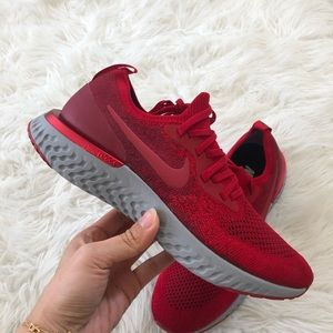 ✔️ New✔️ NIKEiD Epic React Flyknit ~ size 9.5